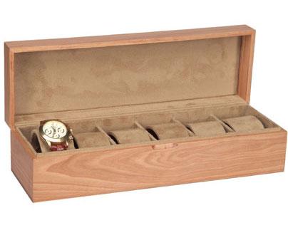 Scatola porta orologi in legno - Porta orologi ikea ...